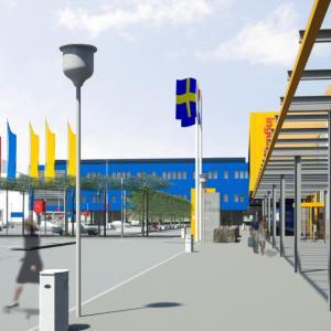 Uitbreiding IKEA vestiging Breda