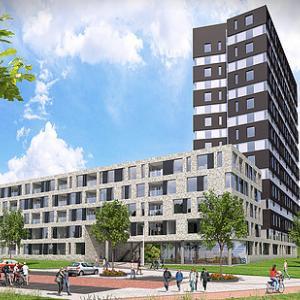 Appartementen complex Gerbrandystraat Utrecht
