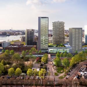 Y-Towers Congreshotel en woontoren Amsterdam